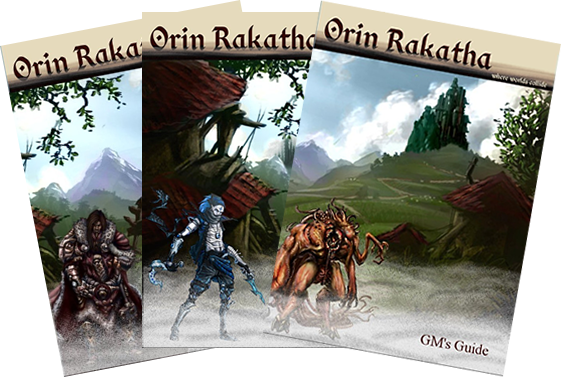 OrinRakatha - RPG Book Covers